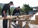 Aufbau einer Boulderwand am BFZ